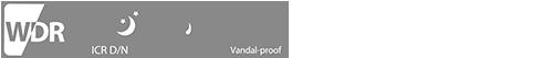 WDR / ICR / IP67 / Vandal-Proof