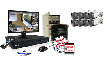 High Definition CVI Security Camera Systems