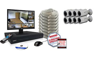 High Definition CVI Security Camera Systems
