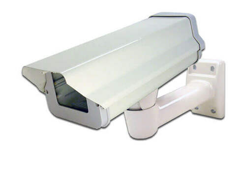 Indoor / Outdoor Professional Security Camera Housing and Bracket