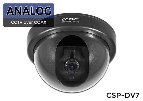 (Varifocal Adjustable) Indoor Sony EFFIO-E Dome Security Camera with 700 Lines and 2.8-12mm Varifocal Lens