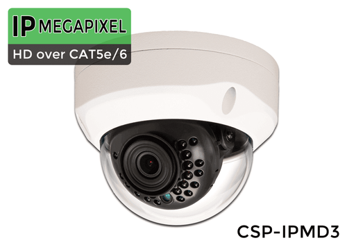 IP Dome Security Camera with 90 Foot Night Vision