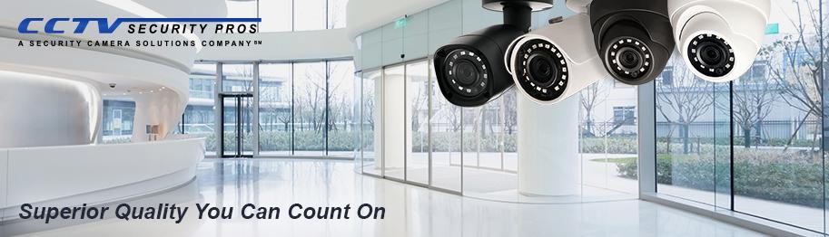Superior quality cameras banner