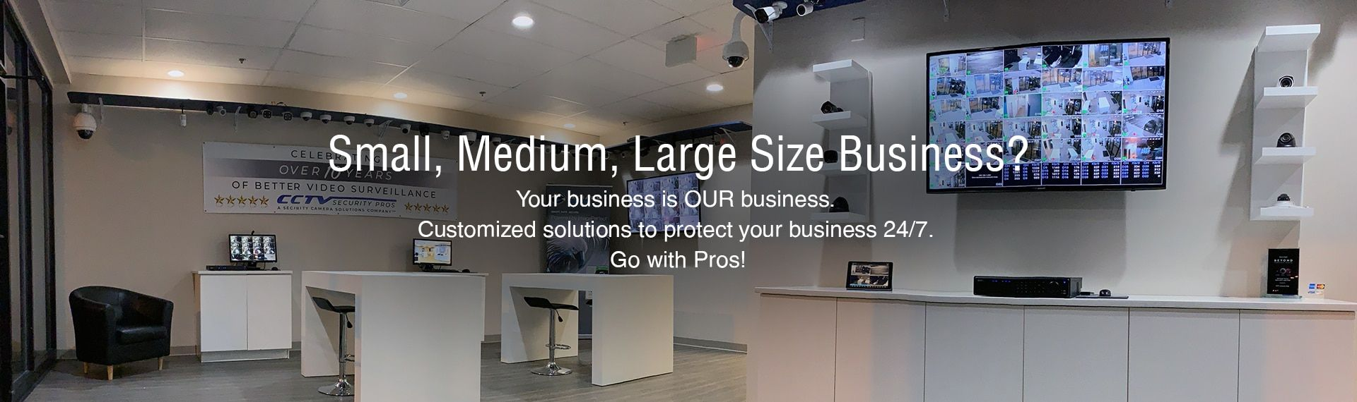 Customized solutions to protect your small/medium/large size business