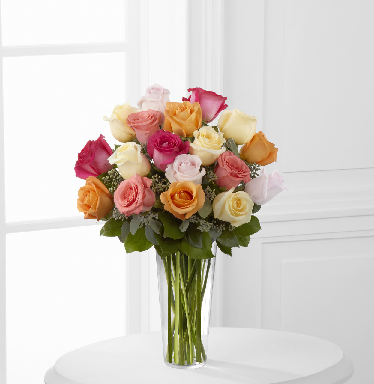Graceful Grandeur Rose Bouquet 18 Roses Simi Valley Flower Delivery
