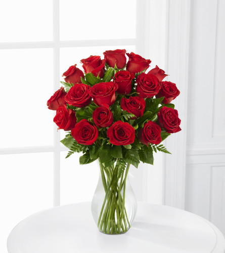 Blooming Masterpiece 24 Red Rose Bouquet Florist Simi Valley