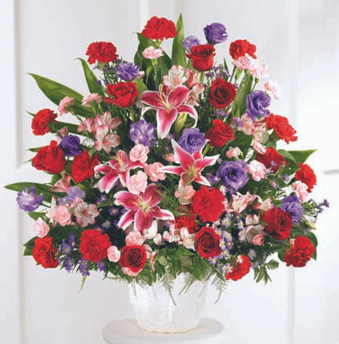 Eternal Solace Arrangement Florist Simi Valley