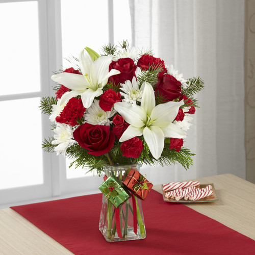 Joyous Holiday Bouquet Simi Valley Flower Delivery
