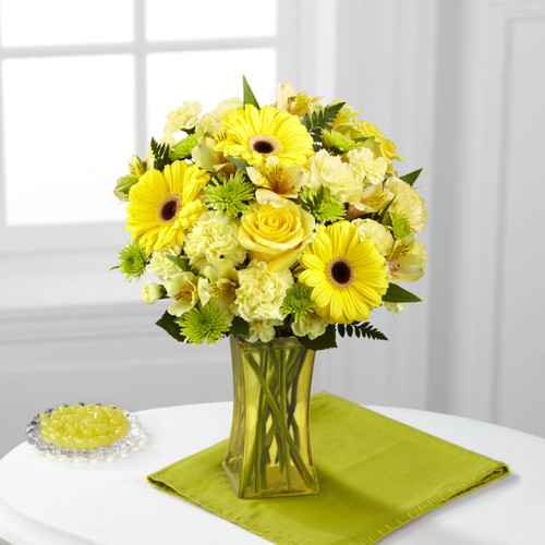 Lemon Groove Bouquet Florist Simi Valley NY