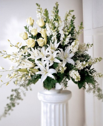 Light In Your Honor Arrangement Simi Valley Flower Delivery