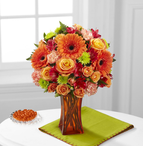 Orange Escape Bouquet Simi Valley Florist