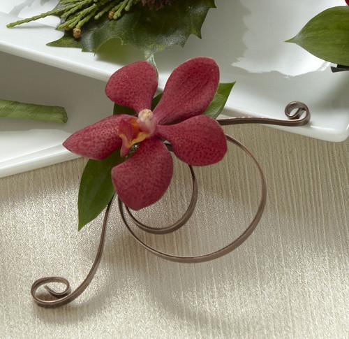 Red Mokara Boutonniere Florist Simi Valley