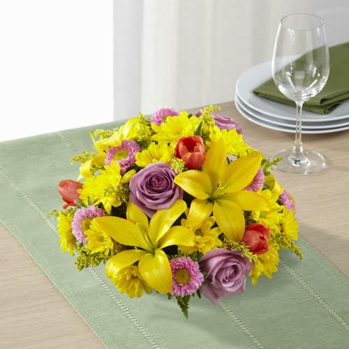 Spring Sunshine Centerpiece Florist Simi Valley