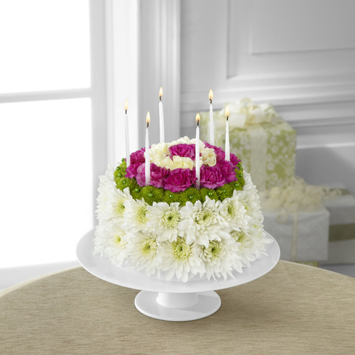 Wonderful Wishes Floral Cake Flowers Simi Valley
