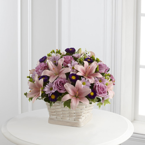 The Loving Sympathy Basket Simi Valley Flower Delivery