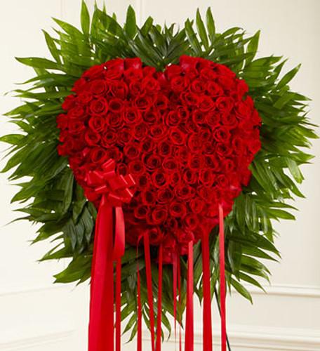 Red Rose Bleeding Heart Flowers Simi Valley