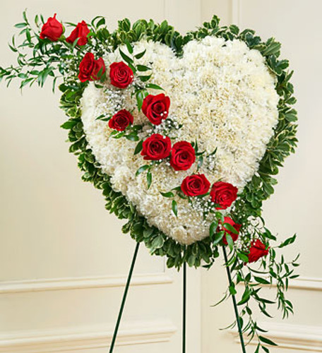 Always in My Heart Floral Heart  Simi Valley Florist