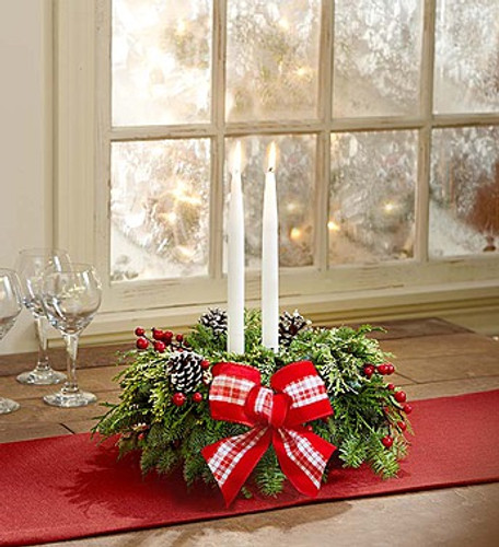Wondrous Holiday Centerpiece Simi Valley Flower Delivery