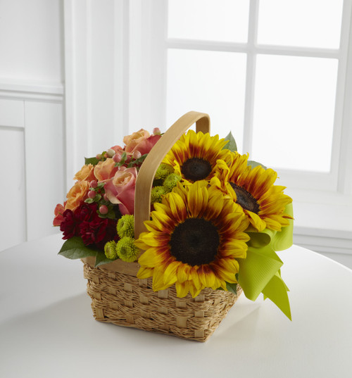 Bright Day Basket Flowers Simi Valley