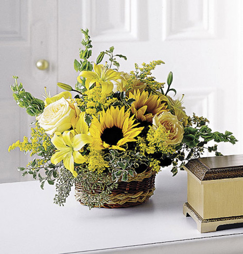 Flowing Garden Basket Simi Valley Flower Delivery