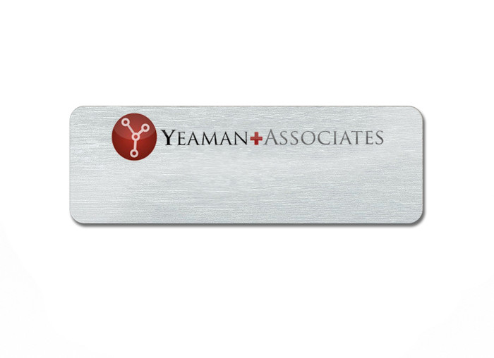 Metal Logo Name Tags