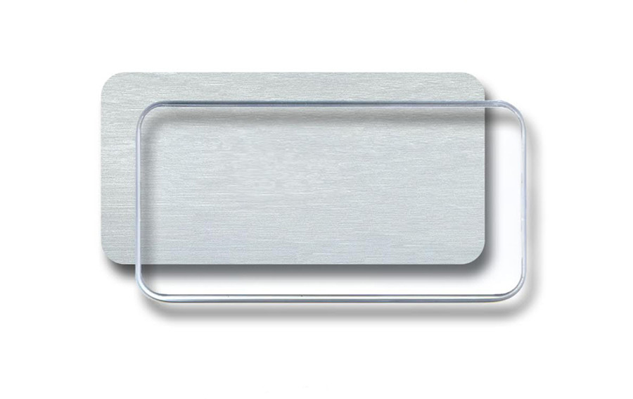 Silver Insert With Dome
