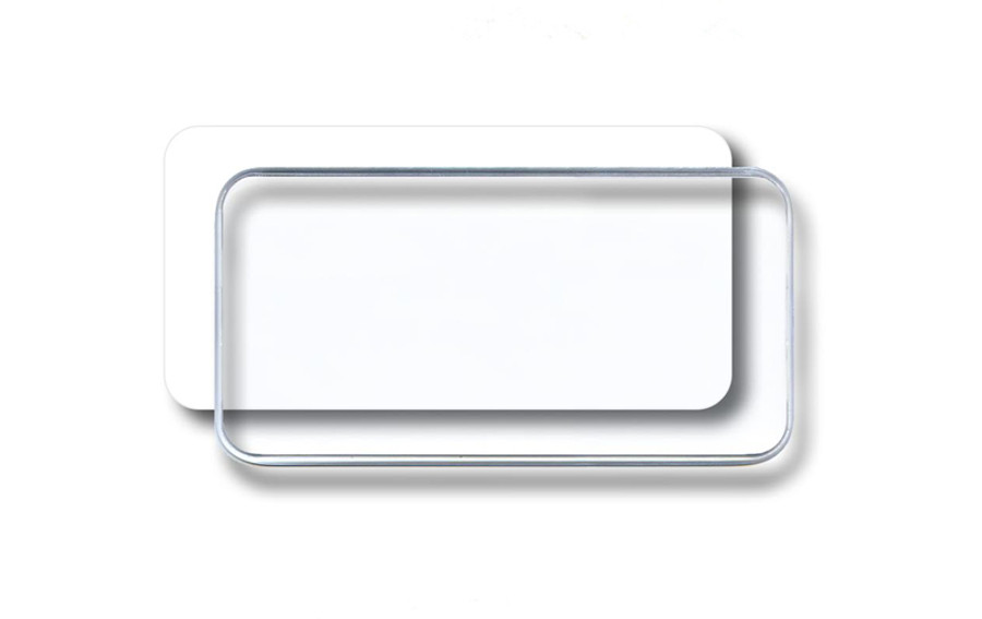 White Insert With Dome