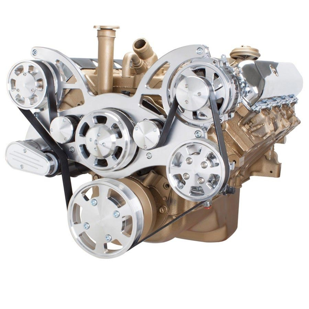 Serpentine System for Oldsmobile 350-455 - Power Steering & Alternator ...