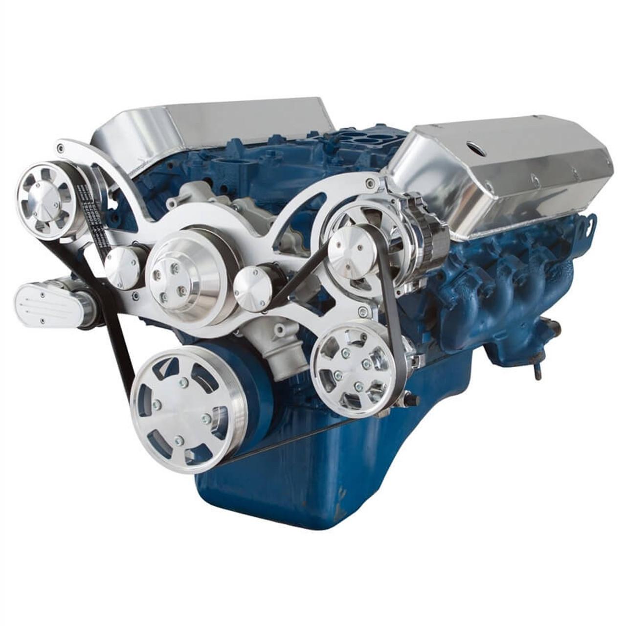 Serpentine System for 429 & 460 - Power Steering & Alternator ...