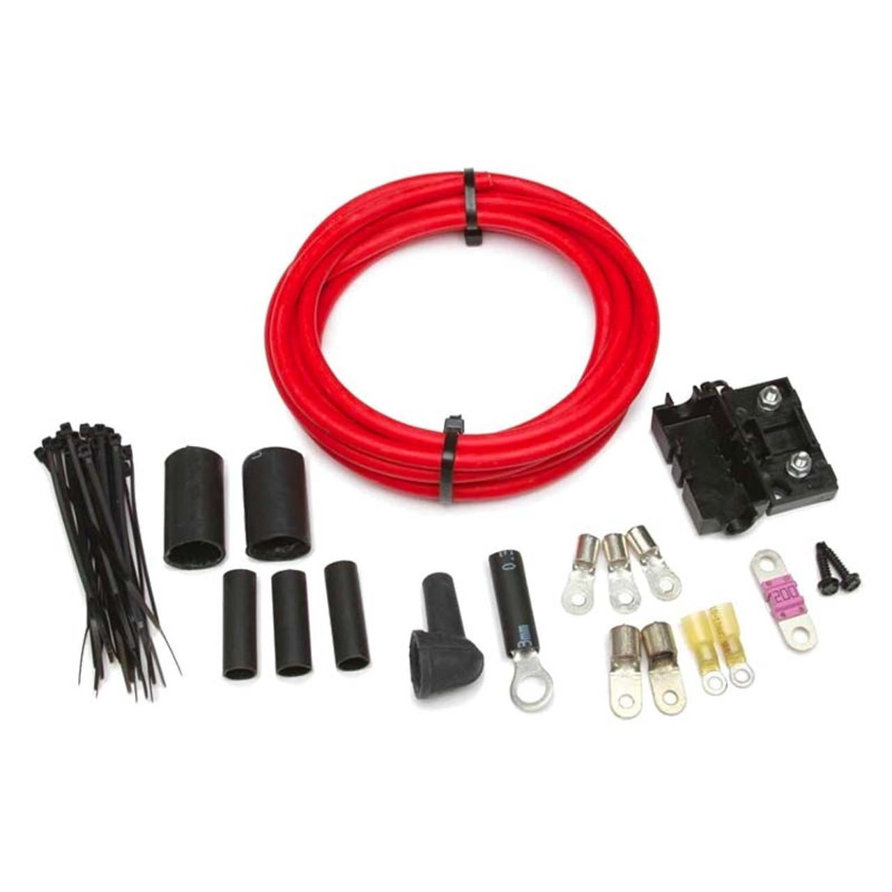 high amp 1 wire alternator wiring kit from painless performance rh cvfracing com high amp alternator wiring 300 Amp Alternator