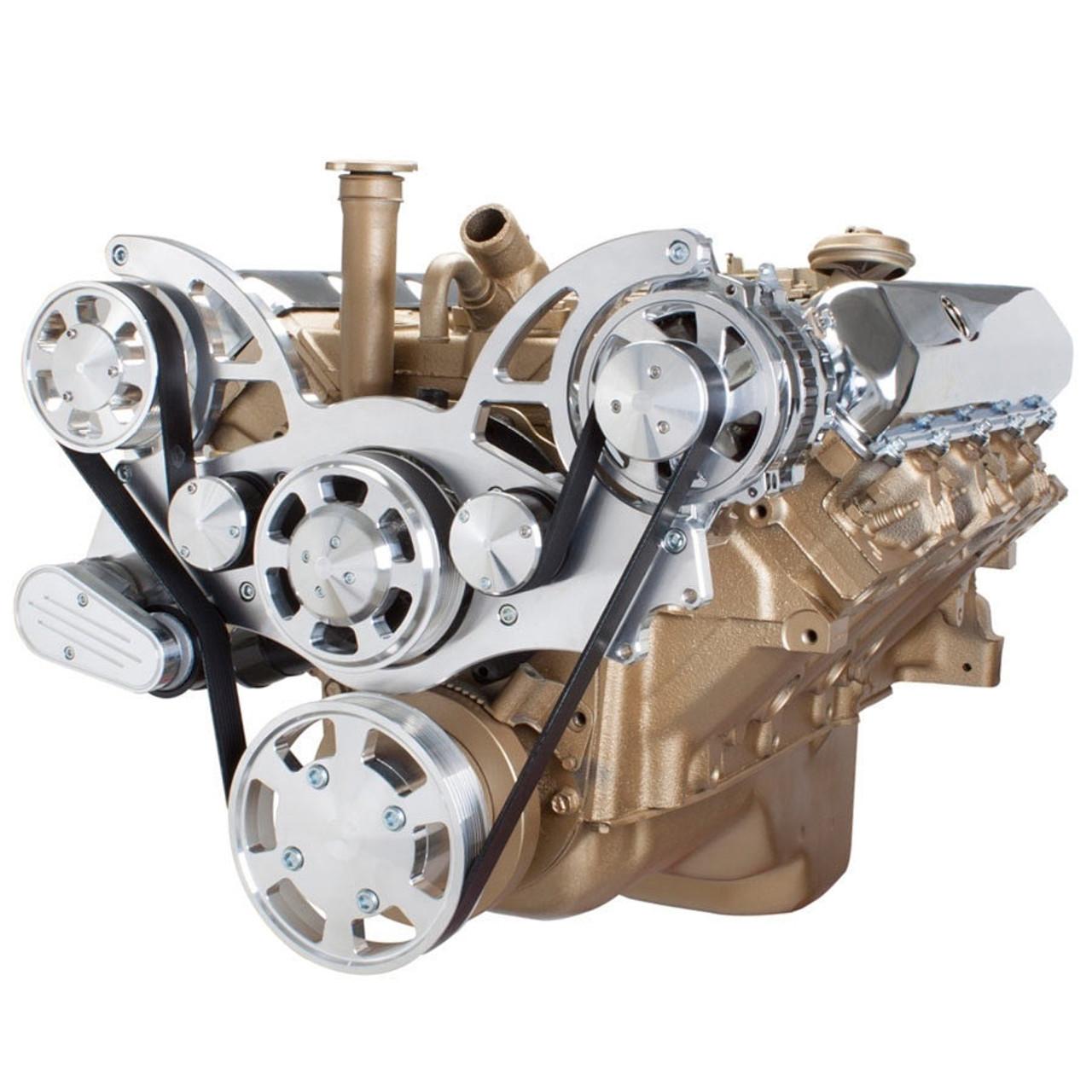 Serpentine System For Oldsmobile 350 455 Alternator Only All Inclusive Rocket Engine Diagram