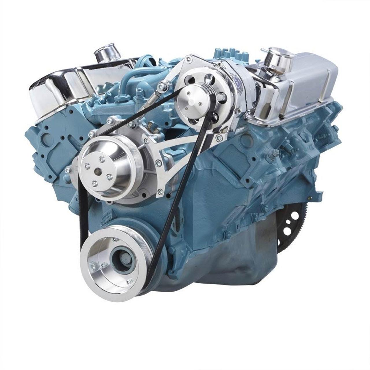 Pontiac Serpentine Conversion Kit (350-400, 428 & 455) for ...
