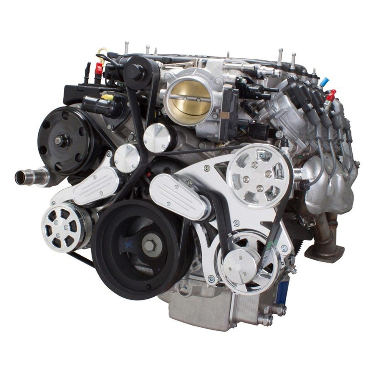 Serpentine System for LT4 Supercharged Generation V - AC, Power Steering &  Alternator - All ...