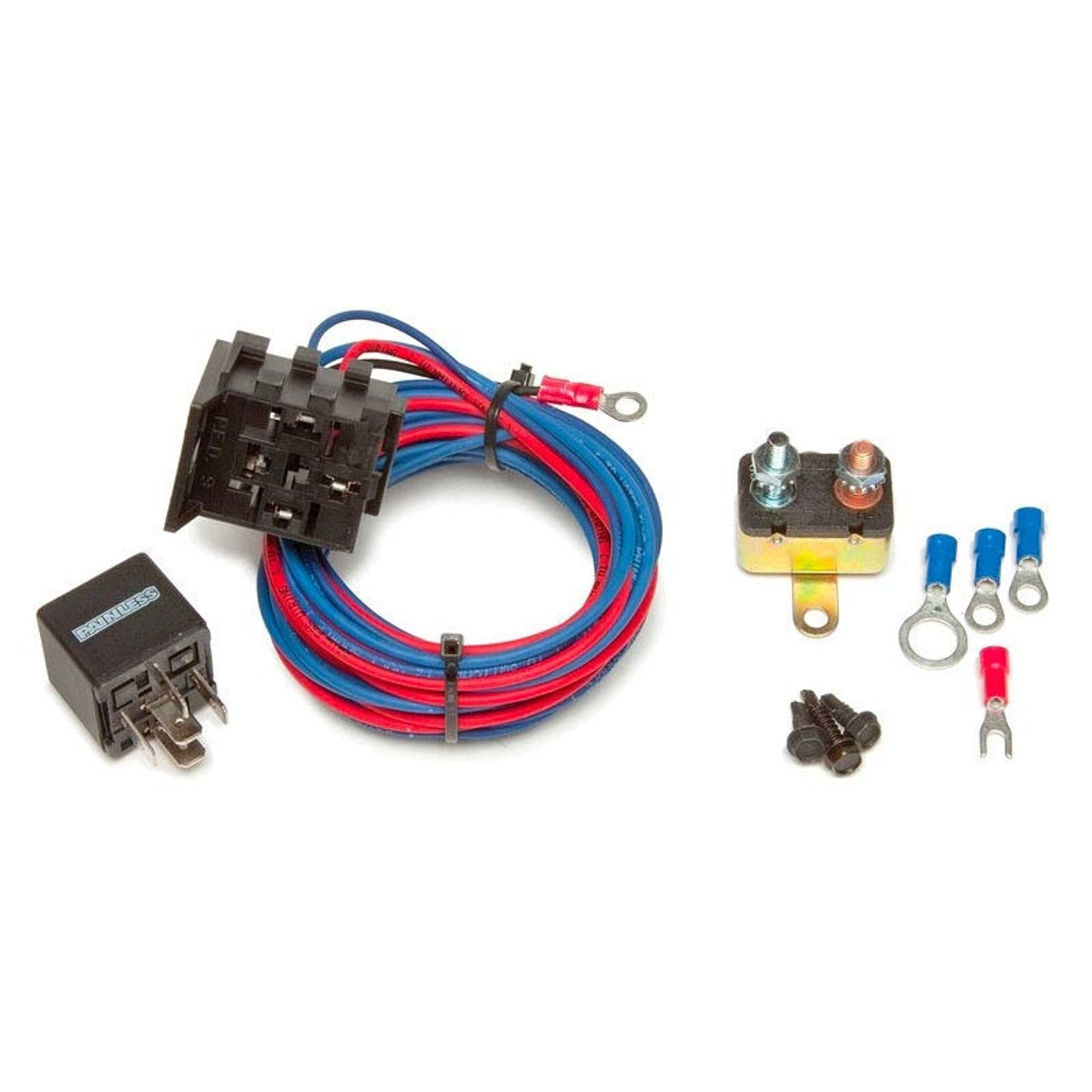 30 amp electric water pump relay kit from painless performance rh cvfracing com Painless Wiring Harness Painless Wiring Harness