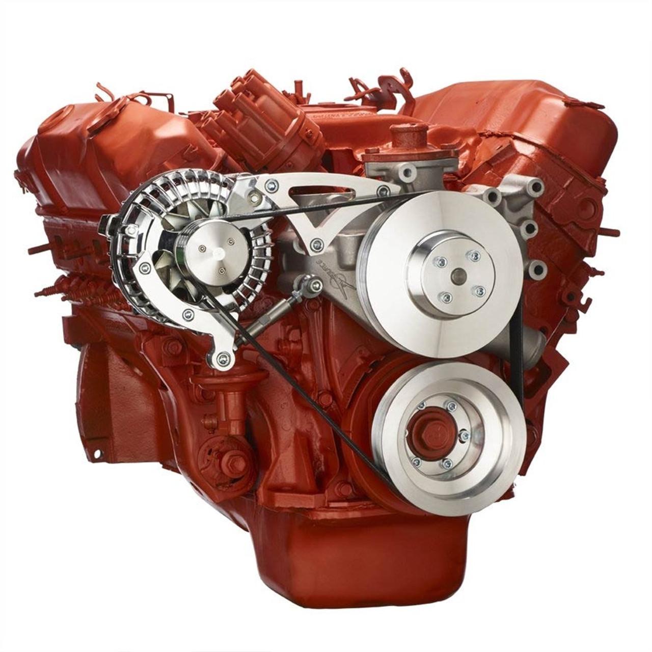 Chrysler Big Block Serpentine Kit For Alternator Only  383