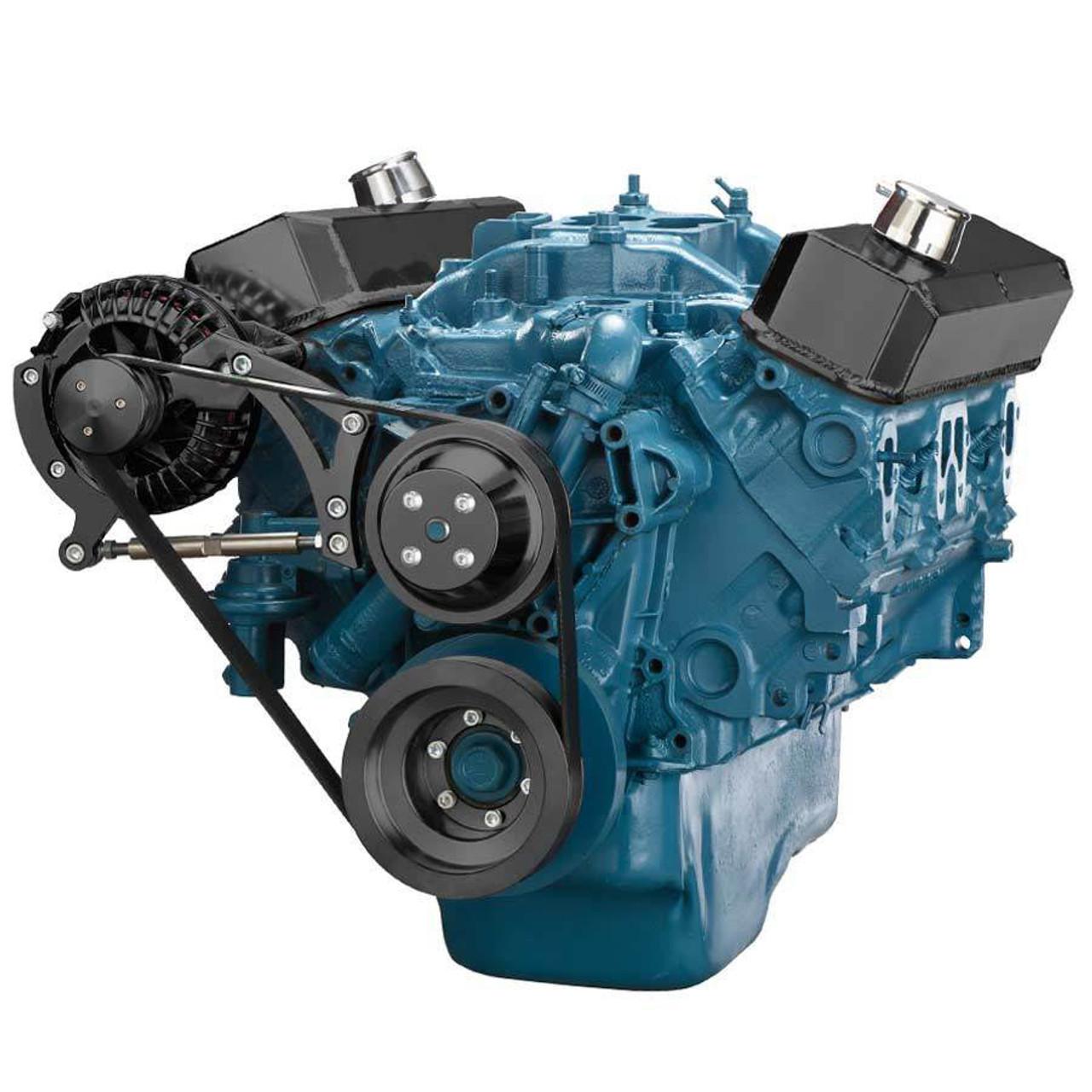 Chrysler Small Block Serpentine Kit for Alternator Only (318, 340 & 360)