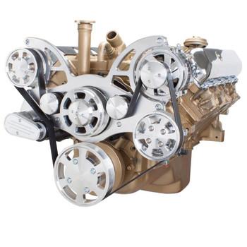 Serpentine System for Oldsmobile 350-455 - Power Steering & Alternator - All Inclusive