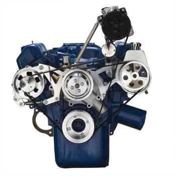 Ford 351C, 351M & 400 Serpentine System - AC, Power Steering & Alternator