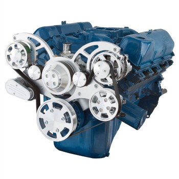 Serpentine System for 351C, 351M & 400 - Power Steering & Alternator - All Inclusive