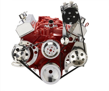 Chevy Small Block Serpentine Conversion - AC, Alternator & Power Steering