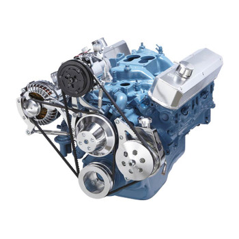 Chrysler Small Block Power Steering, A/C & Alternator System (318, 340 & 360)