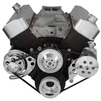 Chevy Big Block V-Belt System - Power Steering