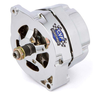 GM 1 Wire Alternator, 100 Amp, Chrome Plated