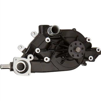 Black Chevy LS1 Mechanical Water Pump, High Flow, Aluminum