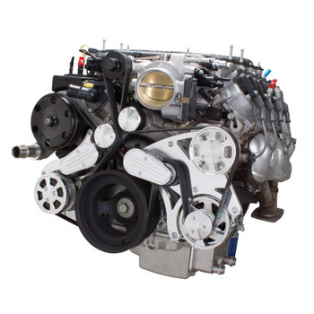 Serpentine System for LT4 Supercharged Generation V - AC & Alternator - All Inclusive