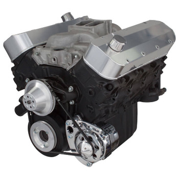 Chevy Big Block V-Belt System - Low Mount Alternator