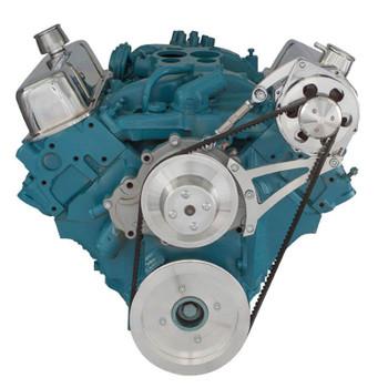 Pontiac V-Belt System - Alternator Only