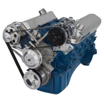 Ford 5.0L & 5.8L Serpentine Conversion Kit - Alternator & A/C