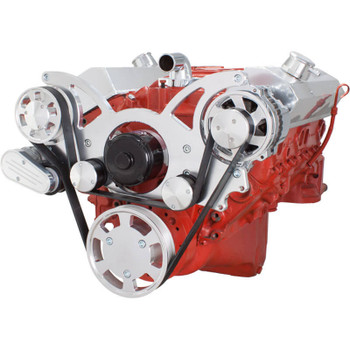 Serpentine System for SBC 283-350-400 - Alternator Only with Electric Water Pump