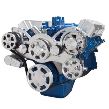 Serpentine System for Ford FE Engines - AC, Power Steering & Alternator